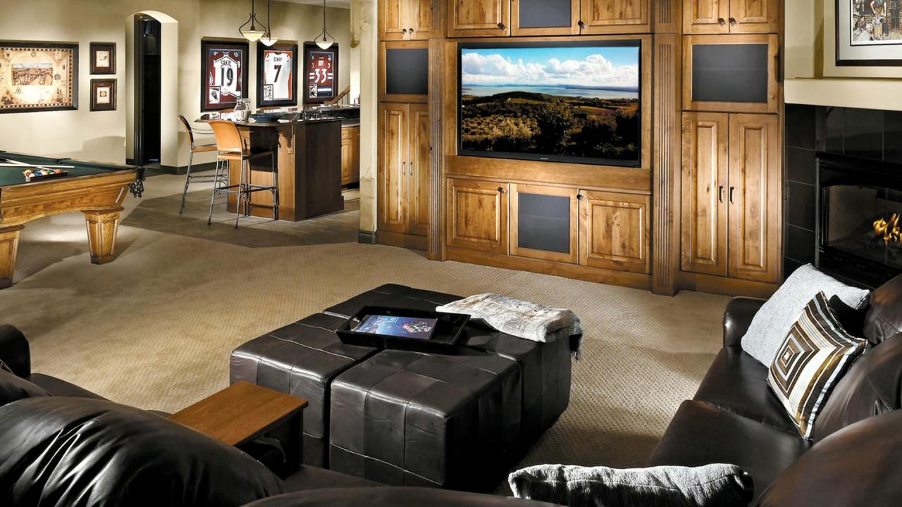 Ideas For Your Basement Remodel Hgtv