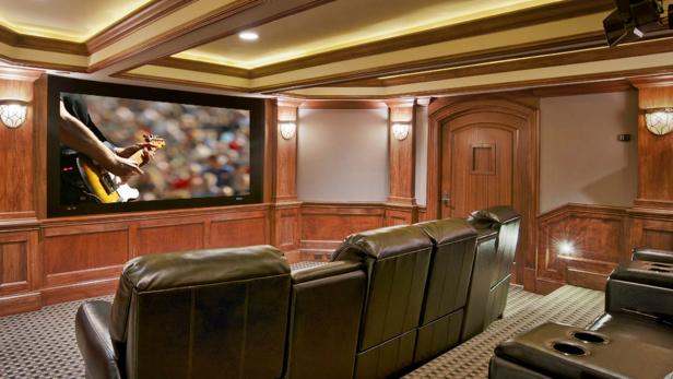 Dream Home Basement Secret Rooms