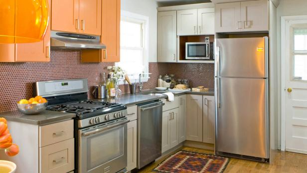 small kitchen cabinet design kitchen cabinet color options hgtv 5416