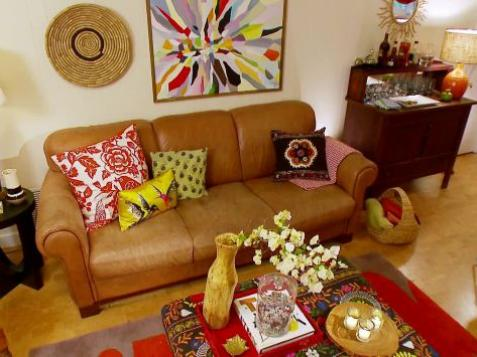 Boho Chic Family Room