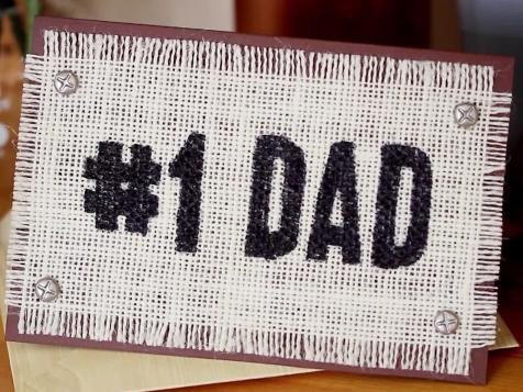 Rustic Father's Day Card