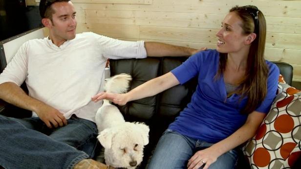 rental house to tiny home video hgtv. Black Bedroom Furniture Sets. Home Design Ideas