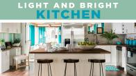 Light and Bright Kitchen Update
