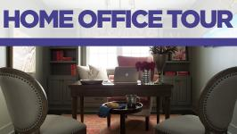 Home Office Tour From HGTV Smart Home 2016 02:11