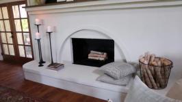 Simplified Stucco Fireplace 01 24
