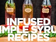 Infused Simple Syrup Recipes