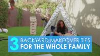 3 Backyard Makeover Tips