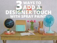 3 Spray Paint Design Hacks