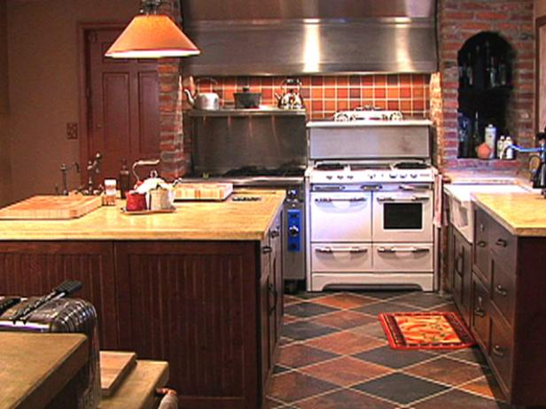 Cozy And Commercial Kitchen Video Hgtv
