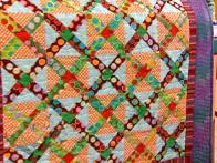 Super-Size a Nine Patch Quilt