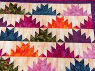 Mountains Triangle Quilt 3