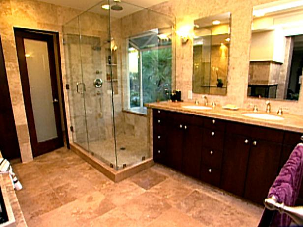 Beautiful bathroom video hgtv for Bathroom remodel 85382